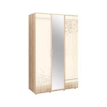 """Шкаф трехдверный с зеркалом """"Бриз"""" 54.02"""