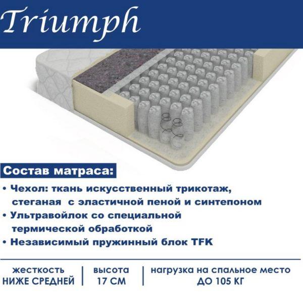 """Матрас """"Triumph"""" (Триумф)"""