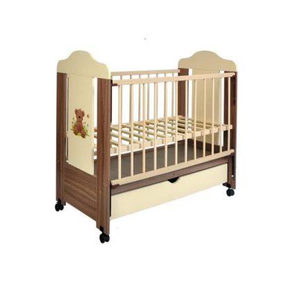 """Кроватка детская """"Орсо"""" с маятником"""