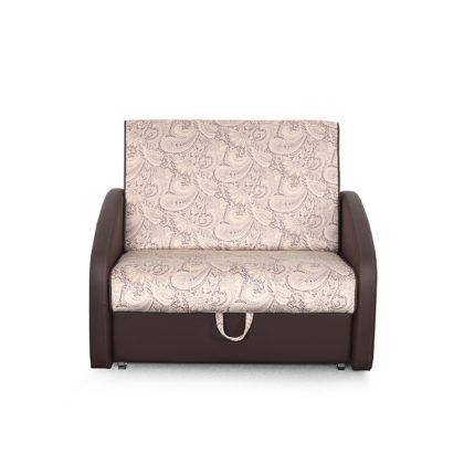 """Диван-кровать """"Оливер"""" стандарт, вар.3 (лорд песочный/домус коричневый)"""