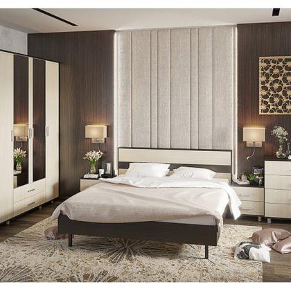 """Модульная спальня """"Монако"""" венге/белфорт"""