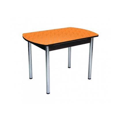 Стол Премьер цветы оранжевые