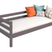 Вариант 2 Кровать Соня Лаванда с задней защитой
