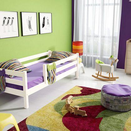 """Кровать """"Соня"""" (вариант 3) с защитой по периметру"""
