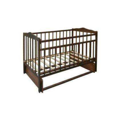 """Кроватка детская из дерева """"Кроха-2"""", венге"""