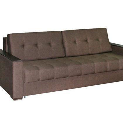 """Диван-кровать """"Монако-6"""" (лайт шоколад/лофе структурный матовый)"""