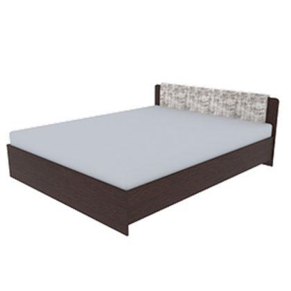 """Кровать """"Неаполь"""" 1,4 м (венге/дуб молочный)"""