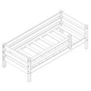 """Кровать """"Соня"""" (вариант 3) с защитой по периметру 1 схема"""