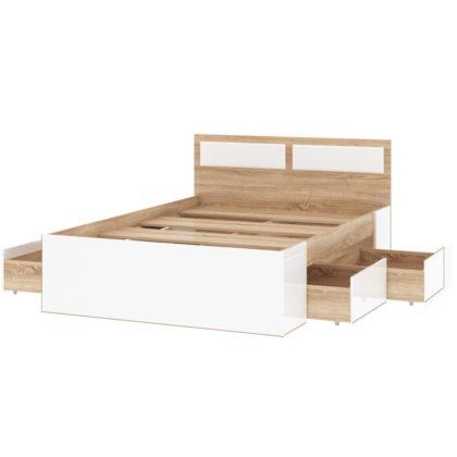 """Кровать двуспальная с ящиками """"Беатрис"""""""