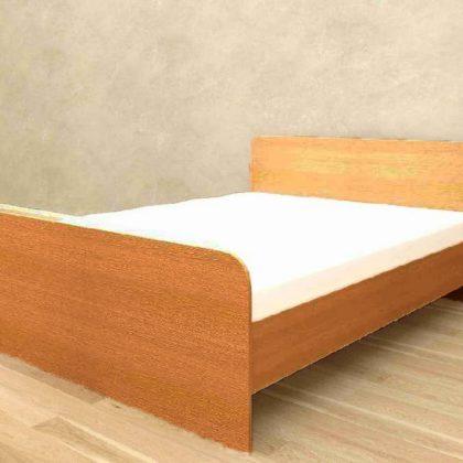 """Кровать двуспальная """"Ксения"""" 1,4 м миланский орех"""