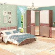 Модульная спальня Розали 2