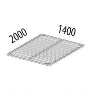 Основание кровати на металлическом каркасе ОК2 (ширина 140 см) схема