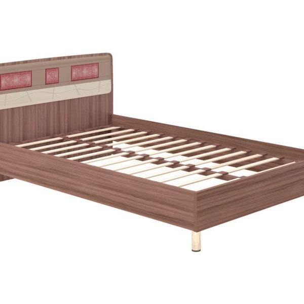 """Кровать 1,2 м """"Розали"""" 96.03.1 с ортопедоснованием"""
