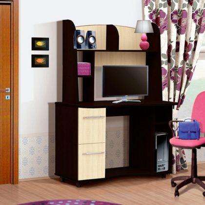 Стол компьютерный СК-3 (венге-клен)