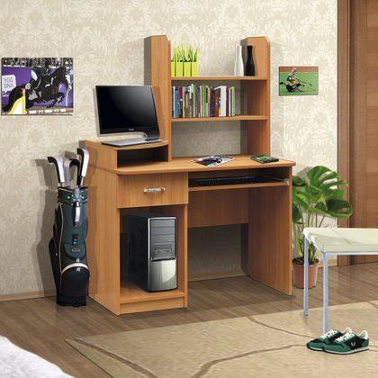 Стол компьютерный СК-4 (Вишня оксфорд)