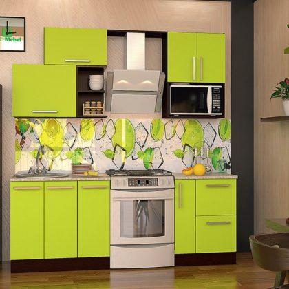 Кухонный гарнитур Dolce vita-26 венге-лайм