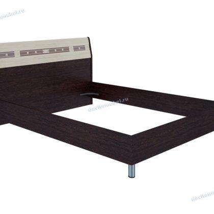 Кровать двуспальная 1,4 м Ривьера 95.02