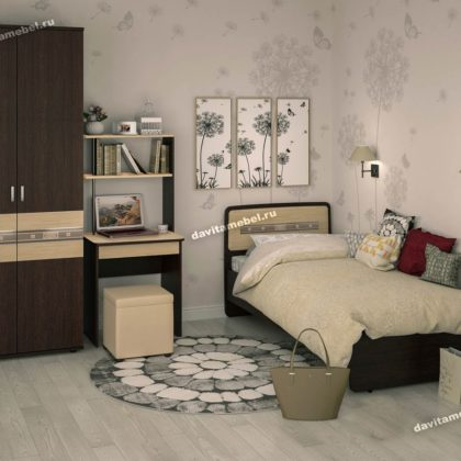 Набор подростковой мебели Ривьера 1