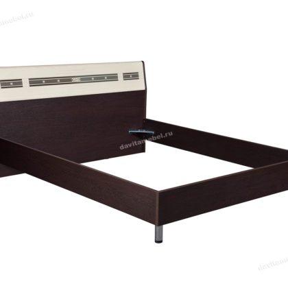 """Кровать двуспальная 1,6 м """"Ривьера"""" 95.01"""