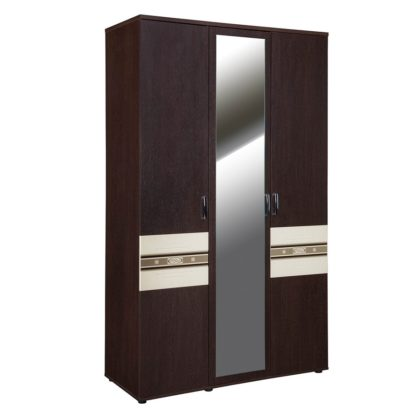 """Шкаф трехдверный с зеркалом """"Ривьера"""" 95.12"""