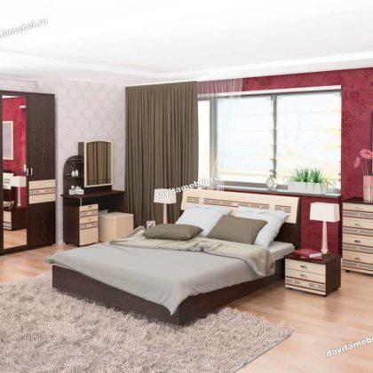 """Модульная спальня """"Ривьера"""" 1"""
