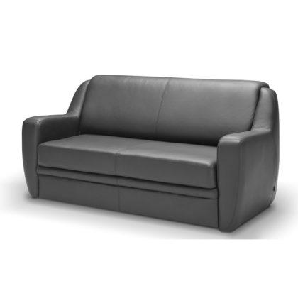 """Офисный диван """"Бостон"""" двухместный, серый"""