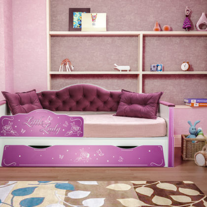 """Кровать детская """"Алиса"""" 01.34"""