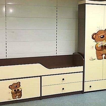 """Кровать детская """"Мишутка-2"""""""