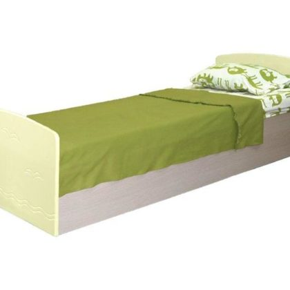 Кровать односпальная Лего-2, ваниль