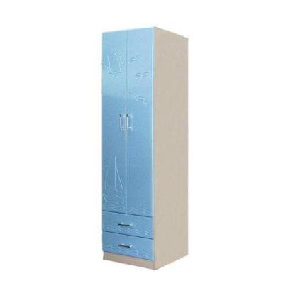 Шкаф для одежды Лего-3, голубой