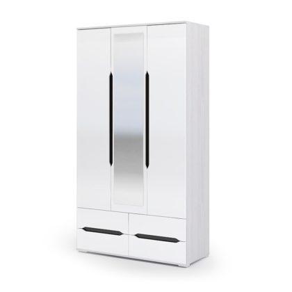 """Шкаф трехдверный с ящиками ШК-033 """"Валирия"""""""
