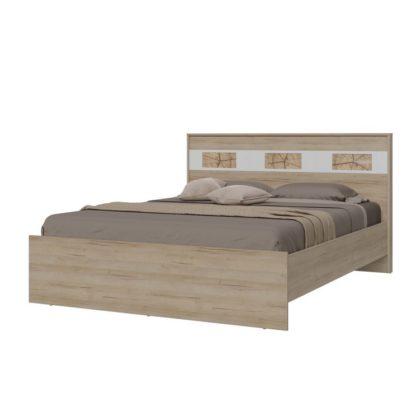 """Кровать двухспальная """"Бавария"""" 1,6 м"""