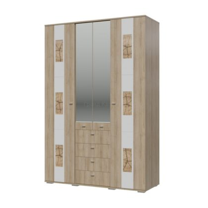 "Шкаф 4-х дверный с ящиками ""Бавария"""