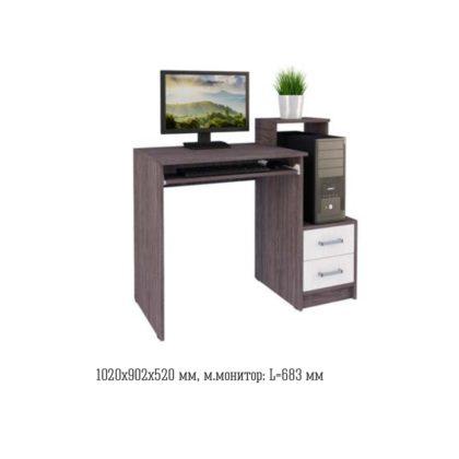 Стол компьютерный №17 (Астрид)