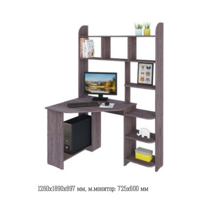 Стол компьютерный №19 (Астрид)
