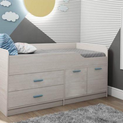 Кровать двухъярусная Каприз-16 без рисунка КПР.16