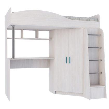 Кровать двухъярусная Каприз-2 без рисунка КПР.02