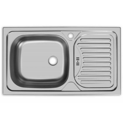 Мойка для кухни врезная AS14243 (чаша слева)