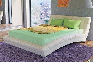 Кровать Оливия (молочная)